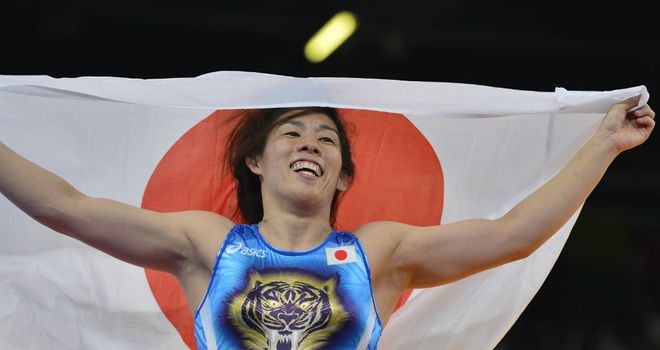 Saori Yoshida: Won her third successive Olympic gold medal on Thursday