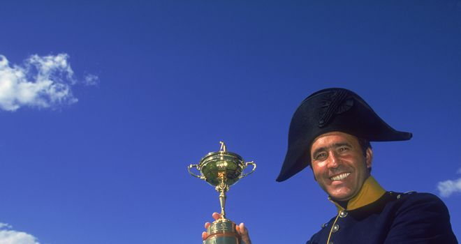 Seve Ballesteros: Was never going to give the Ryder Cup up on his home Spanish soil