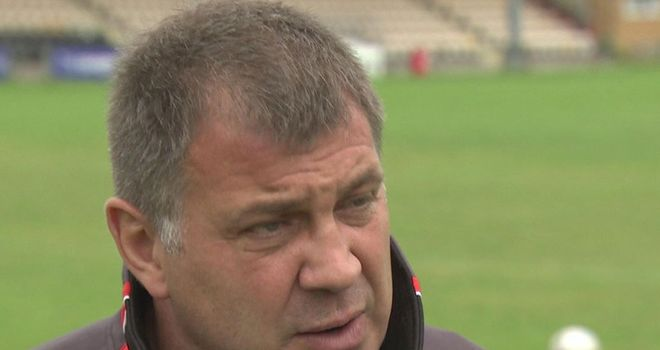 Shaun Wane: Has imposed an alchohol ban on his Warriors players