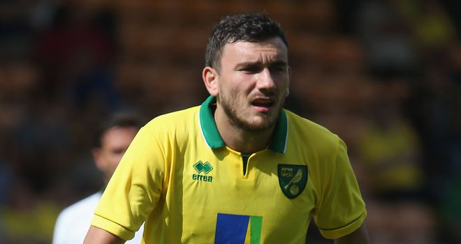 Robert Snodgrass: Impressed on his home debut for Norwich