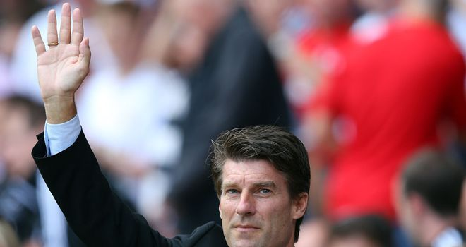 Michael Laudrup: Saw Swansea battle to a point in a home date with Sunderland