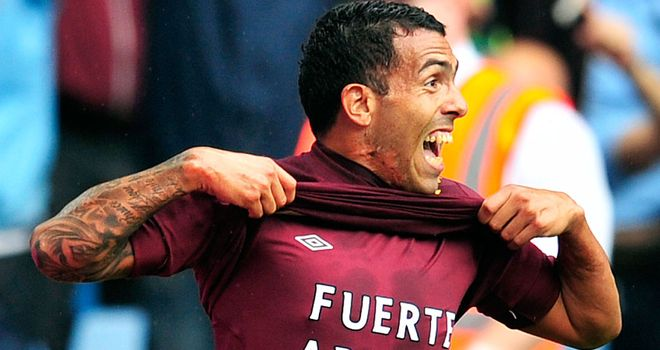 Carlos Tevez: Ready to fire for Man City this season after feeling wanted again