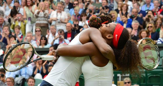 The Williams sisters: Olympic doubles champions for a third time