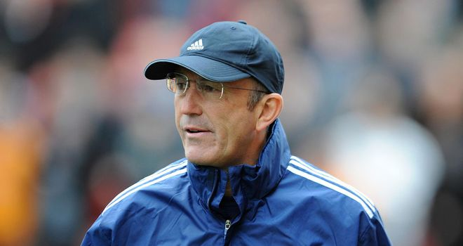 Tony Pulis: Stoke City manager is seeking a first win of the season at Wigan Athletic