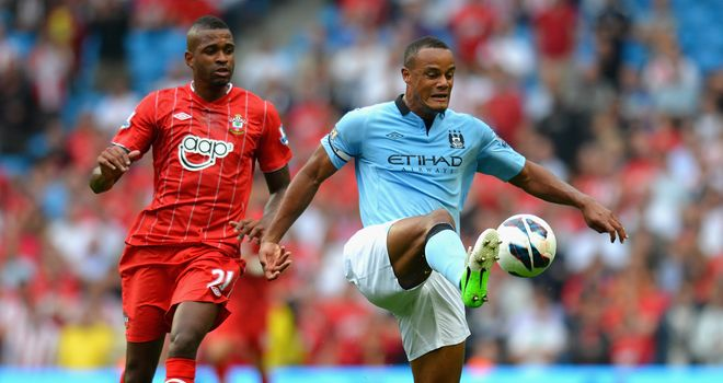 Vincent Kompany: Content with Manchester City's start to the season