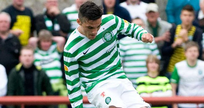 Tony Watt: Teenage striker is hoping Celtic can qualify for the last 16 of the Champions League