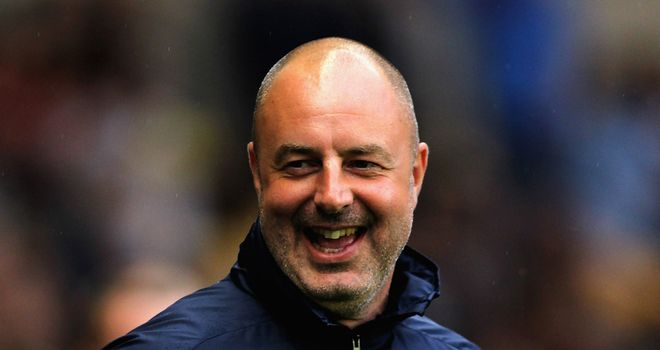Keith Hill: All smiles after victory