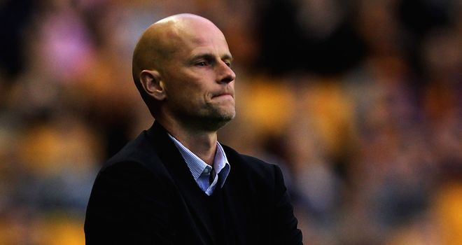 Stale Solbakken: Unhappy with red card in defeat to Watford