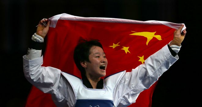 Wu Jingyu: Retained her Olympic title