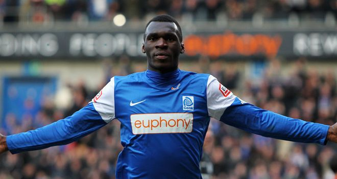 Christian Benteke: Has missed training with Genk after failed Villa bid