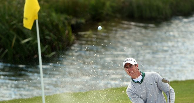 Nicolas Colsaerts: Two off the pace after opening day in Scotland