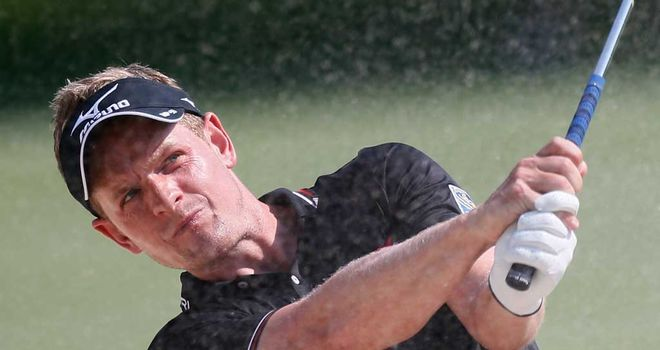 Luke Donald: Tied third and three back from leader Jim Furyk
