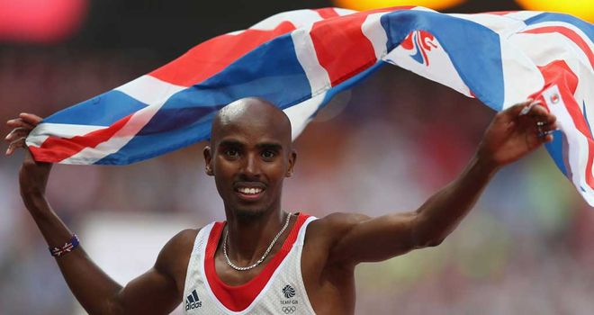 Mo Farah: Still training hard