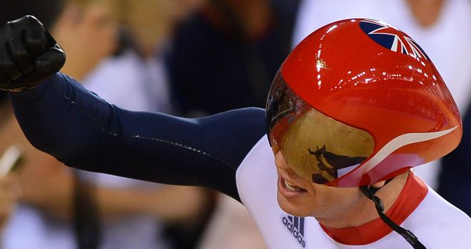 Sir Chris Hoy: Dabbled with BMX and rowing before turning to track cycling