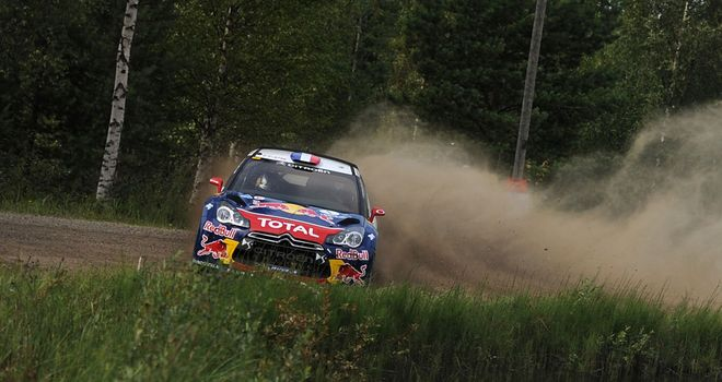 Sebastien Loeb: Closing in on a ninth straight WRC title