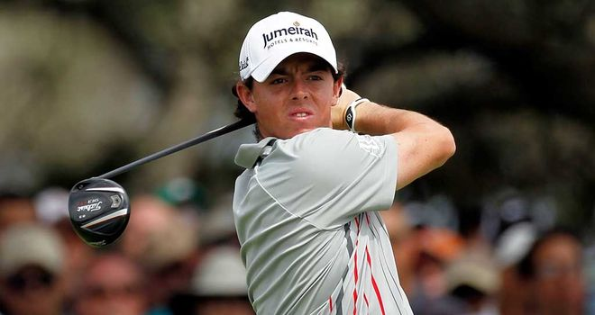 Rory McIlroy: Just two off the pace