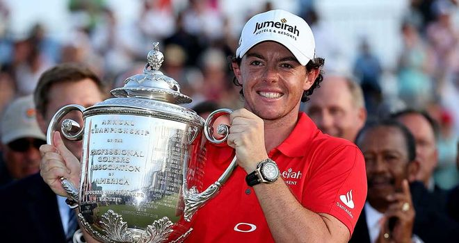Rory McIlroy: Proud to be called a multiple major winner