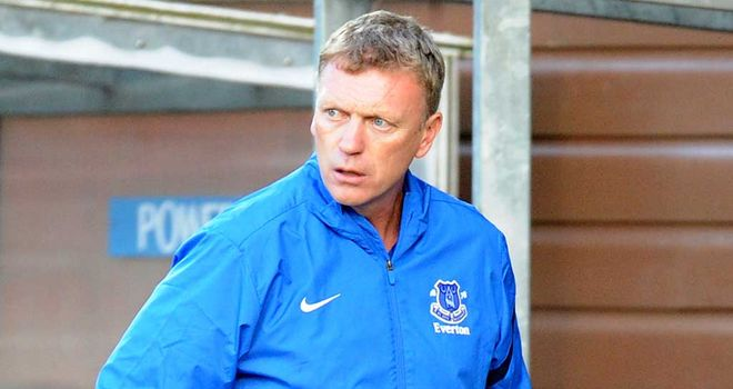 David Moyes: Eyeing strong start with Toffees this season