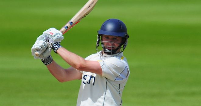 Will Porterfield: Signed a new contract with Warwickshire until 2015