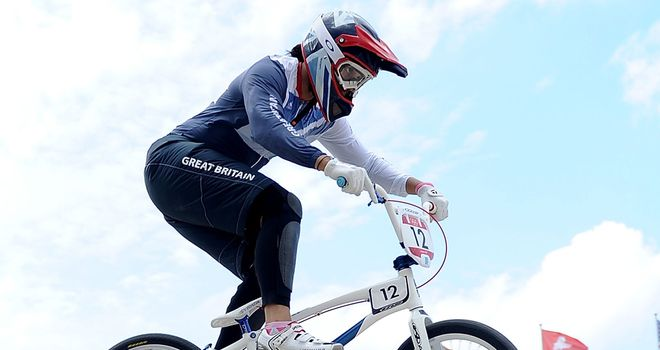 Shanaze Reade: Finished sixth in BMX final