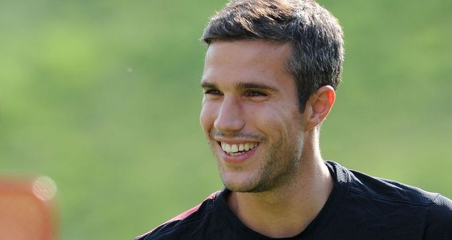 Robin van Persie: Expected to make his Manchester United debut against Everton on Monday