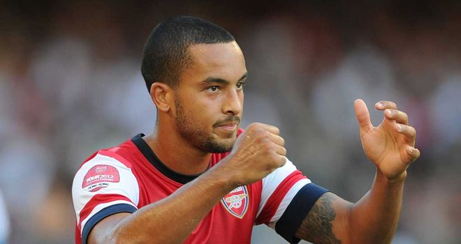 Theo Walcott: Set to be given the chance to play in a striking role for Arsenal