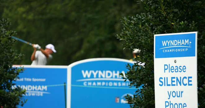 Sedgefield Country Club in North Carolina hosts this week's Wyndham Championship