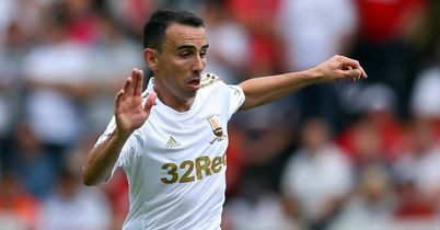 Leon Britton: Helped Swansea to claim a battling point against Reading