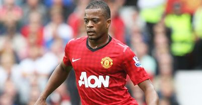 Patrice Evra: United currently sit two points clear of City at the top of the Premier League