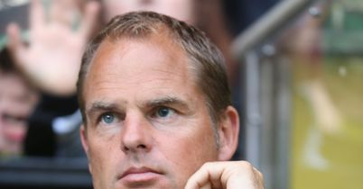Frank de Boer: Snubbed offer from Spartak Moscow