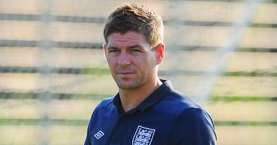 Steven Gerrard: A fitness doubt for England's game against Sweden on Wednesday