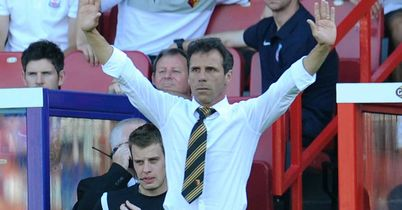 Gianfranco Zola: Keen to focus on positives