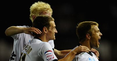 Jamie Ward: On the scoresheet for Derby
