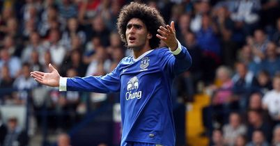 Marouane Fellaini: Setting his sights on top four