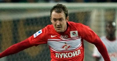 Aiden McGeady: Hoping to end Spartak Moscow's poor run of form