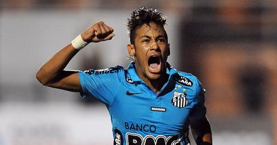Neymar: Santos forward has been linked with Barcelona and Man City