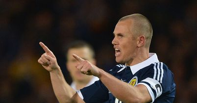 Kenny Miller: Scotland international striker scored the equaliser against Macedonia