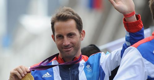 Sailing legend Ben Ainslie knighted after winning gold for the fourth straight Olympic Games