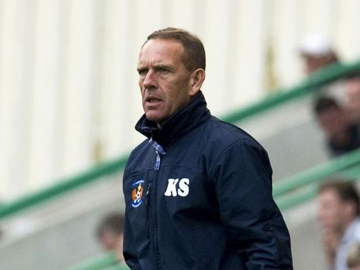 Kenny Shiels: Unhappy with referee