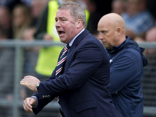 Ally McCoist: Has expressed his disappointment