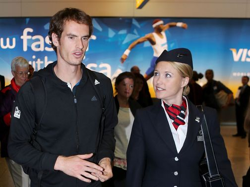 Murray: Back in Britain after his win in New York