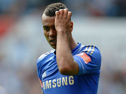 Ashley Cole: Overdue goal