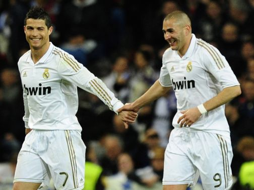 New Latest Football Tr... Benzema And Ronaldo 2012