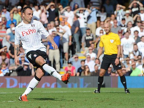 Dimitar Berbatov: Injury blow