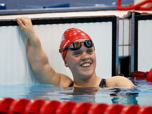 Ellie Simmonds: Had to settle for silver in the S6 100m freestyle