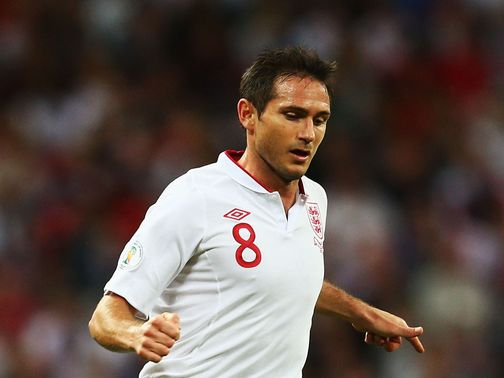 Frank Lampard: Has a calf injury
