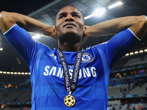 Florent Malouda: Training with youngsters