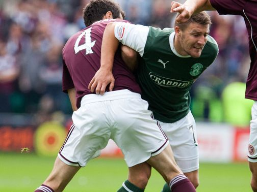 Gary Deegan: Ready for Hibs return