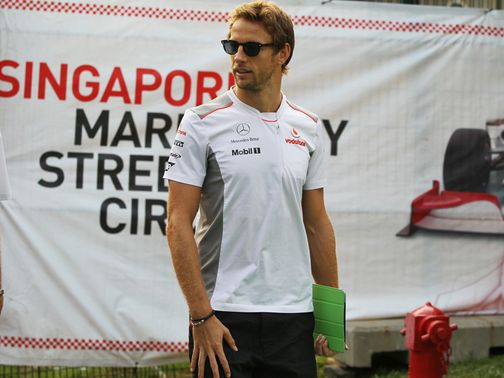 Jenson Button: Throwing away points