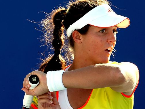 Laura Robson: WTA award winner